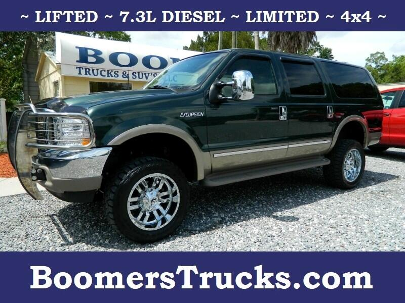 2002 Ford Excursion Limited 7.3L 4WD