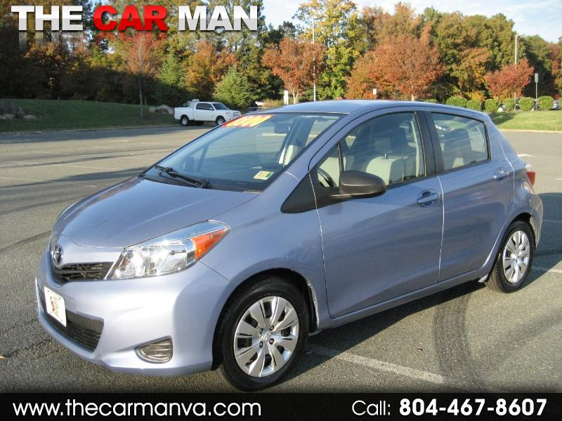 2012 Toyota Yaris L 5-Door AT