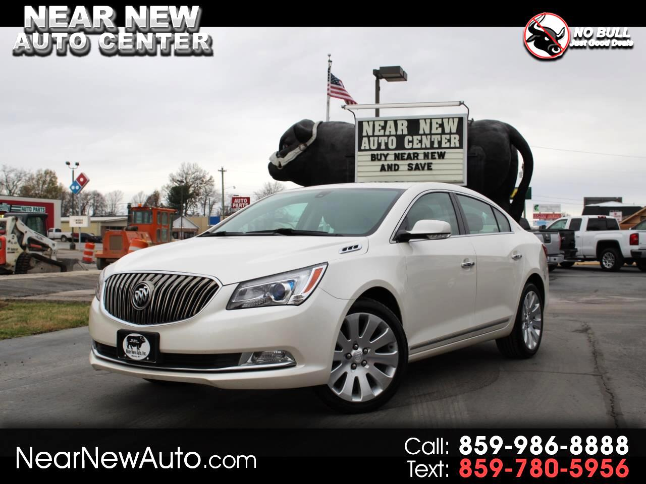 2014 Buick LaCrosse 4dr Sdn Leather AWD