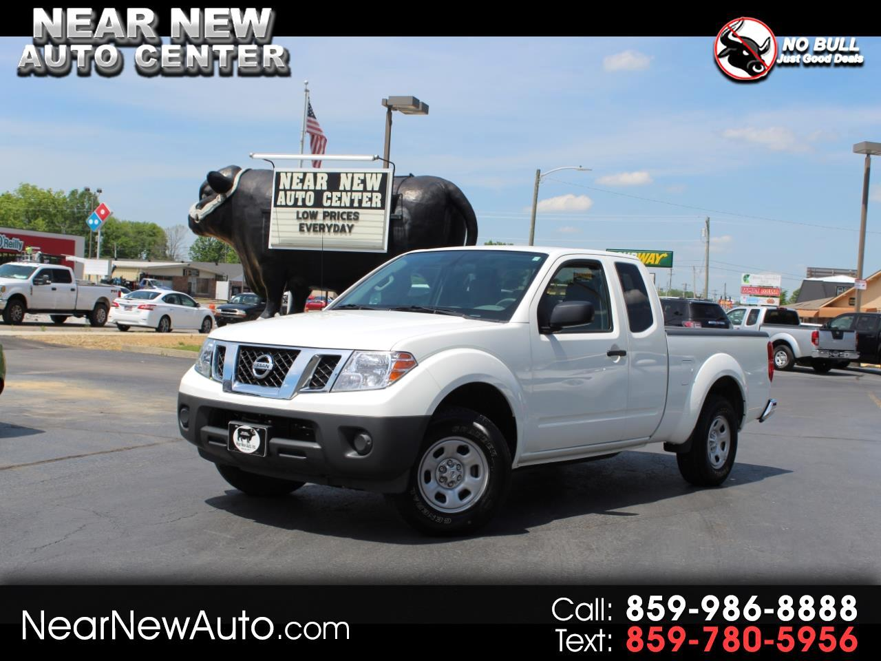 2016 Nissan Frontier 2WD King Cab I4 Auto SV