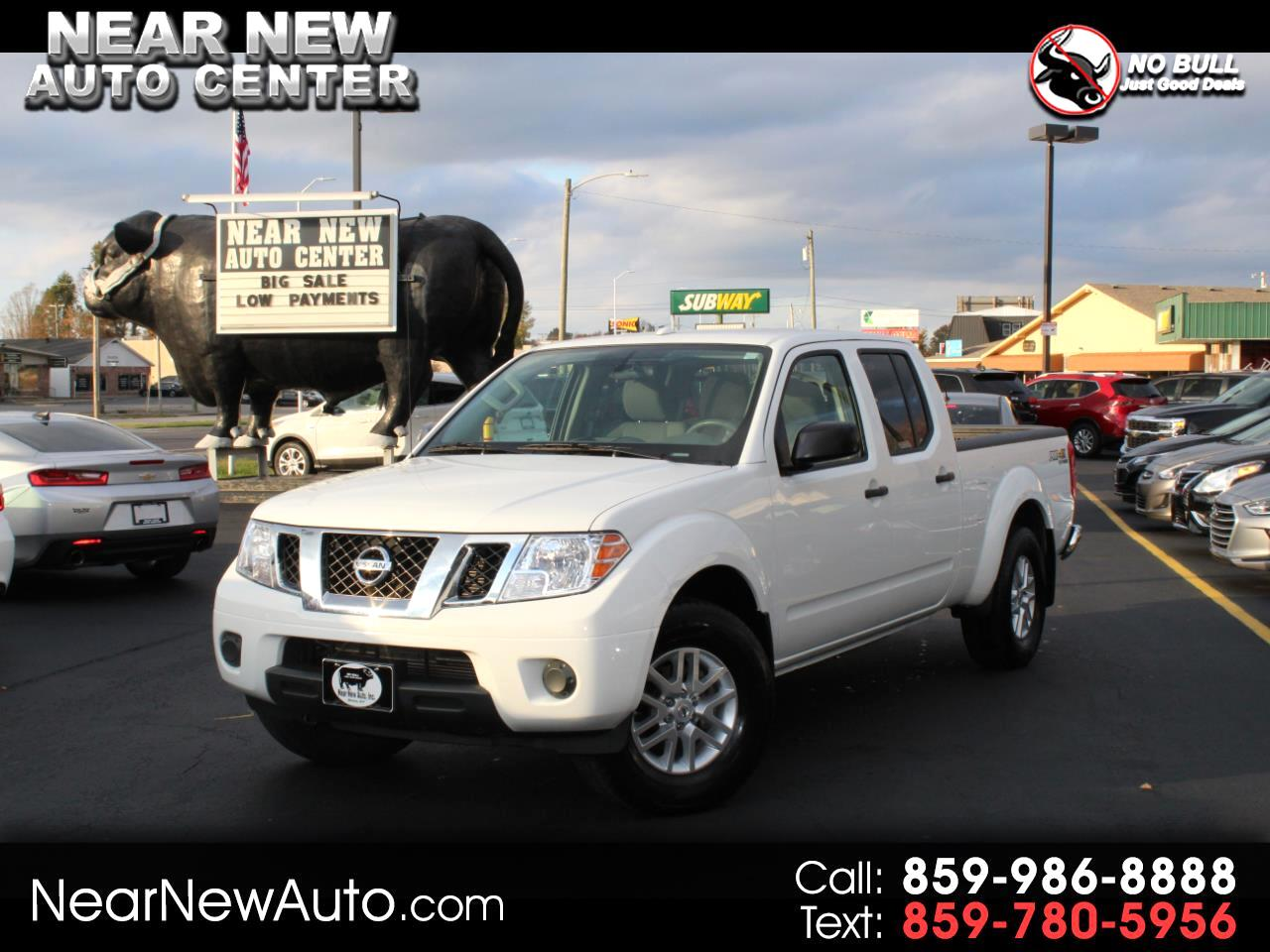 2018 Nissan Frontier Crew Cab 4x4 SV V6 Auto Long Bed