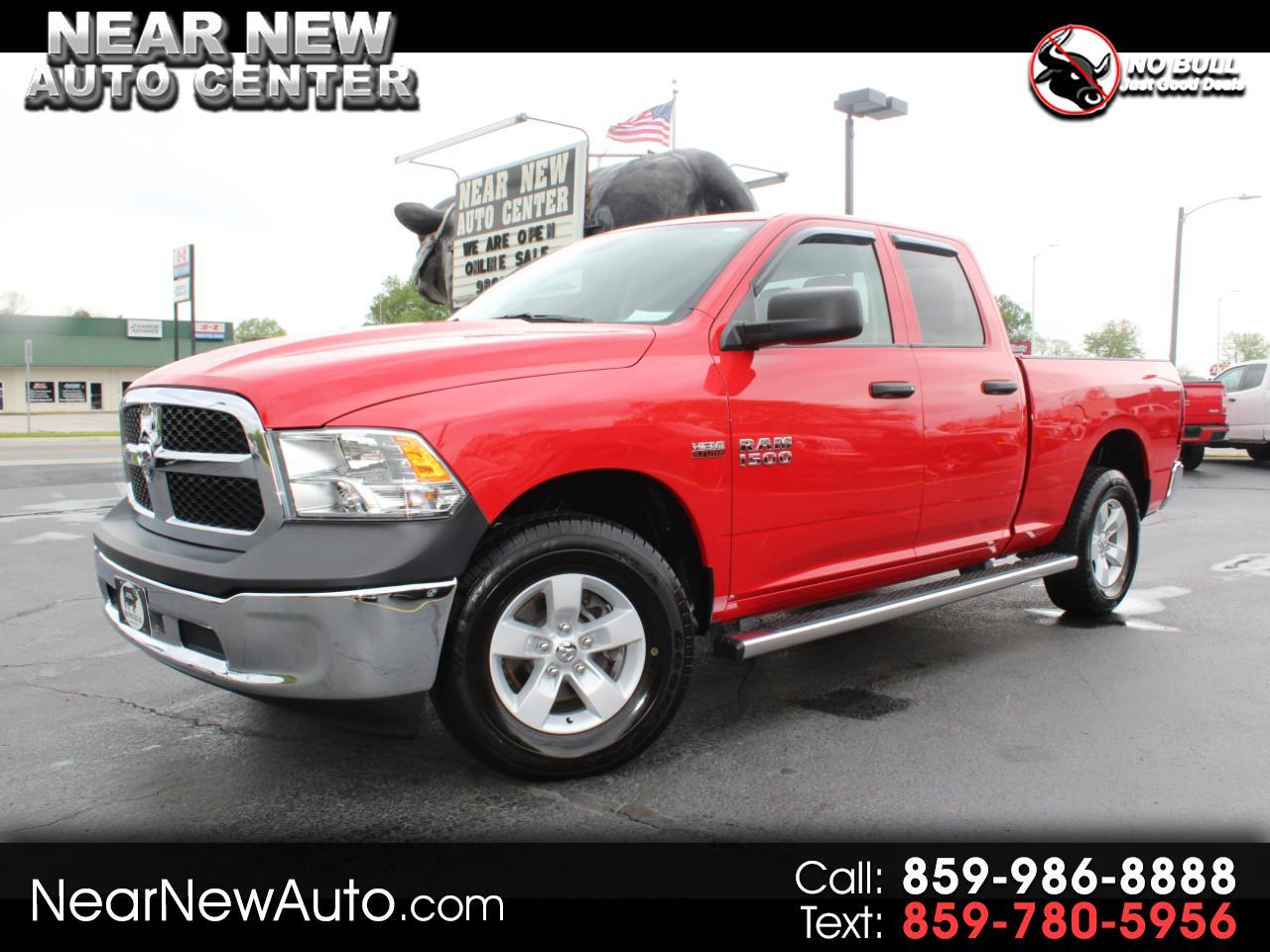 "RAM 1500 Tradesman 4x4 Quad Cab 6'4"" Box 2018"
