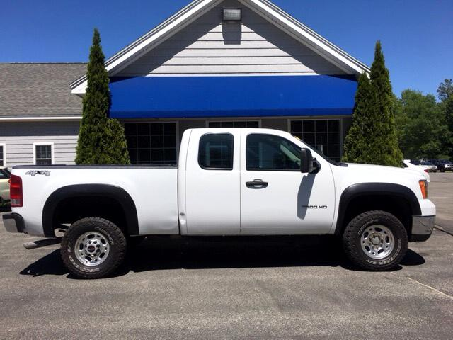 2010 GMC Sierra 2500HD Work Truck Ext. Cab 4WD