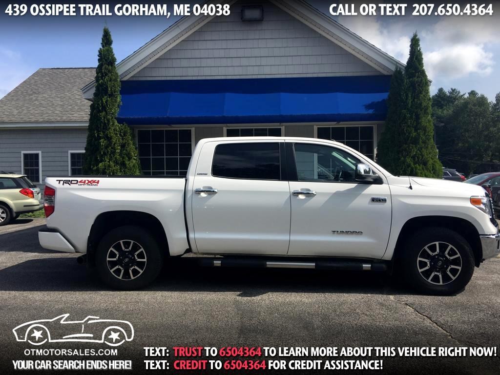 2017 Toyota Tundra 4WD Limited CrewMax 5.5' Bed 5.7L (Natl)