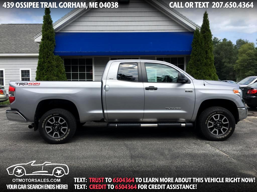 2015 Toyota Tundra 4WD Truck Double Cab 5.7L V8 6-Spd AT TRD Pro (Natl)