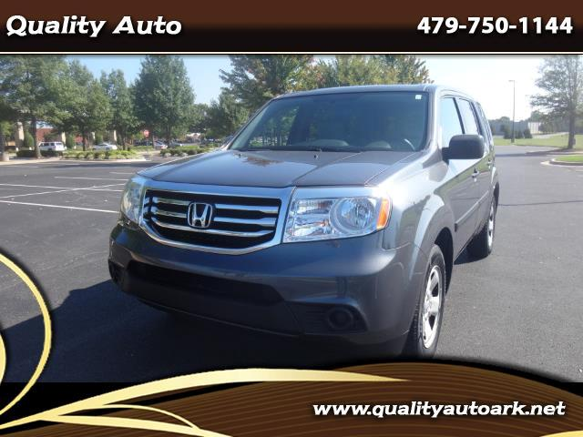 2013 Honda Pilot LX 4WD 5-Spd AT
