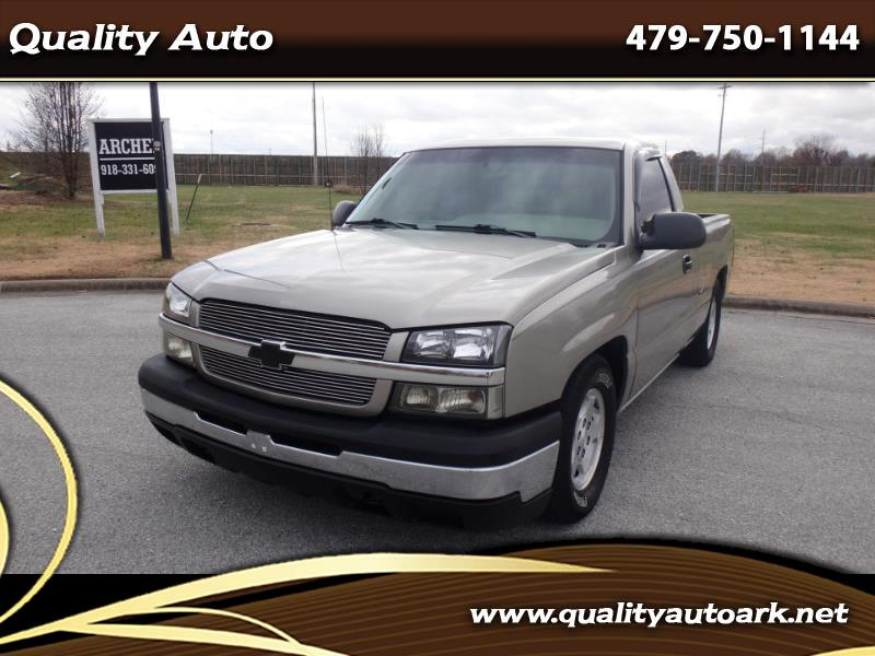 2003 Chevrolet Silverado 1500 Short Bed 2WD