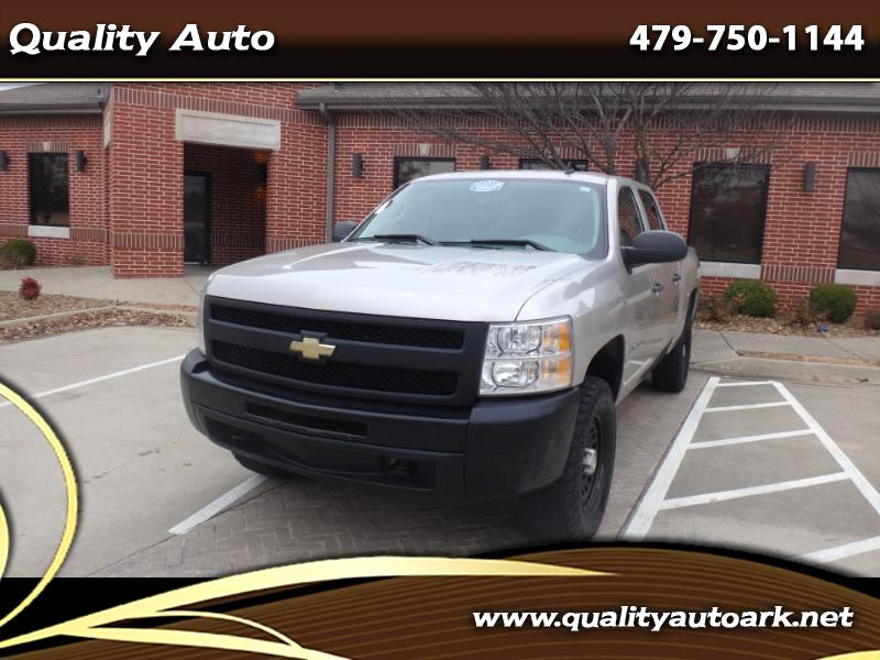 2009 Chevrolet Silverado 1500 Work Truck Crew Cab 4WD