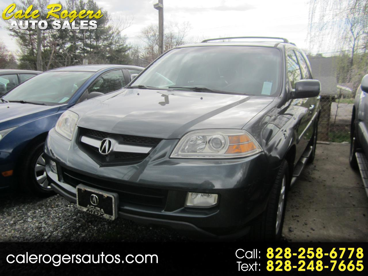 Acura MDX Touring with Rear DVD System 2005