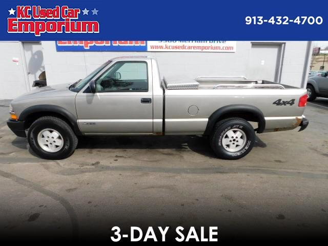 1999 Chevrolet S10 Pickup Reg. Cab Long Bed 4WD