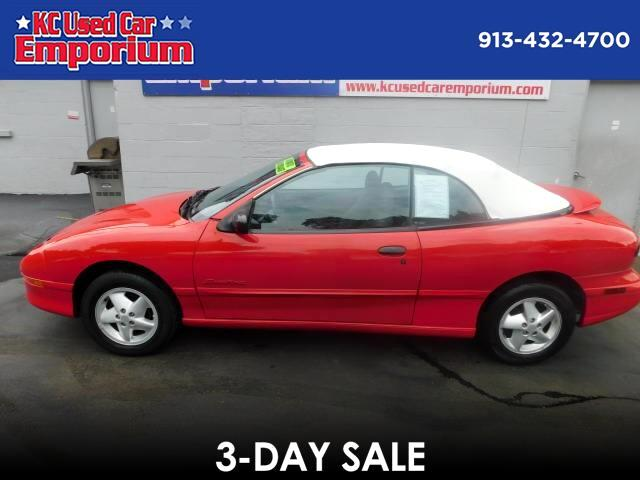 1997 Pontiac Sunfire SE convertible