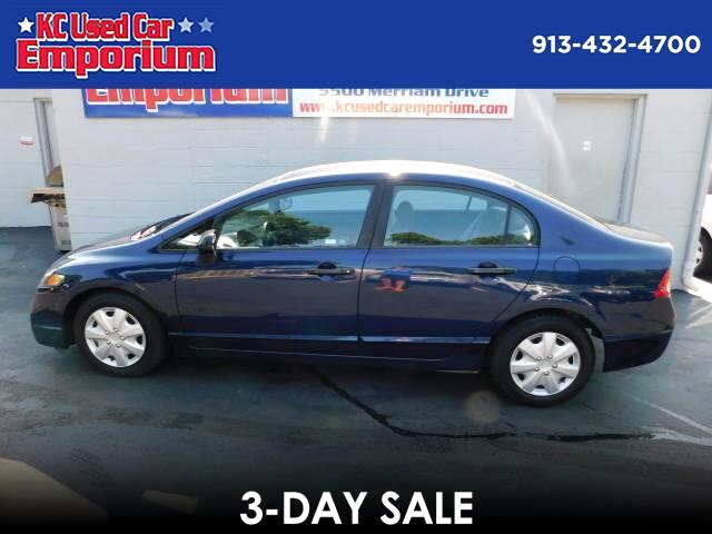 2010 Honda Civic DX-VP Sedan 5-Speed AT