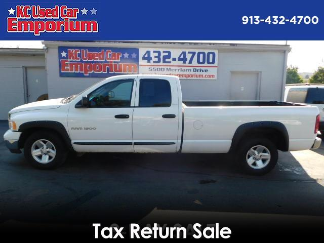 2002 Dodge Ram 1500 ST Quad Cab Long Bed 2WD