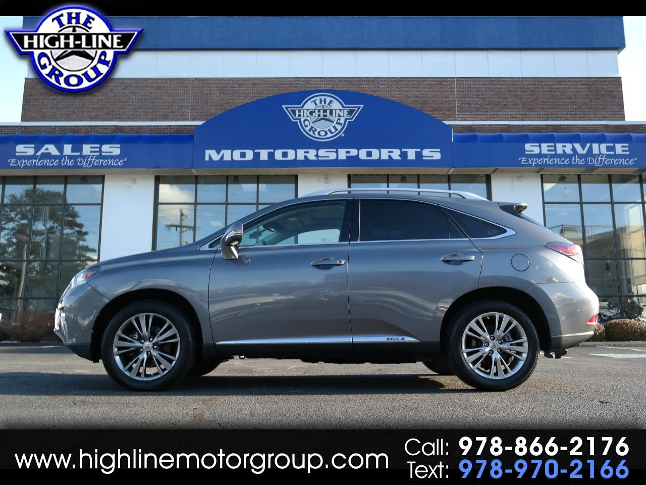 used 2013 lexus rx 450h awd hybrid for sale in lowell ma 01851 the highline group. Black Bedroom Furniture Sets. Home Design Ideas