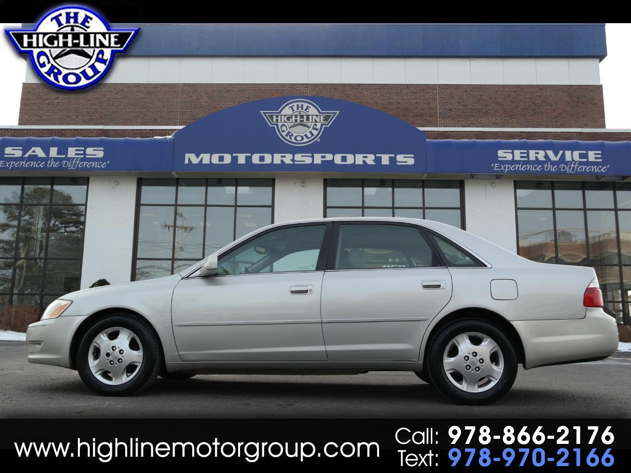 2004 Toyota Avalon 4dr Sdn XLS w/Bench Seat (Natl)