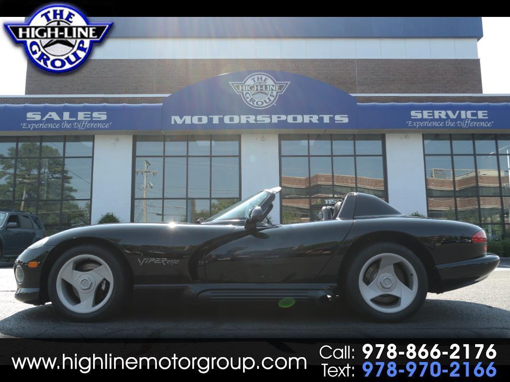 1993 Dodge Viper 2dr Open Sports Car