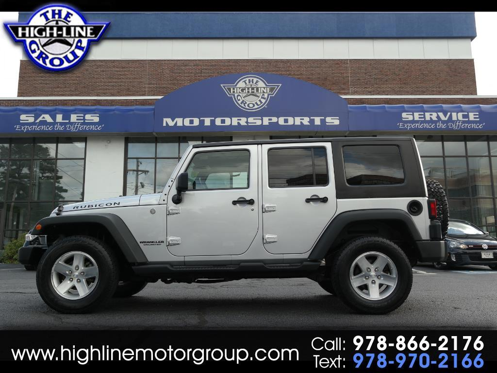2010 Jeep Wrangler Unlimited 4WD 4dr Rubicon