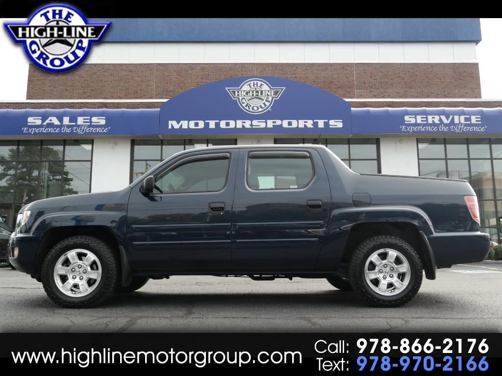 Used 2009 Honda Ridgeline For Sale In Lowell Ma 01851 The Highline Trailer Hitch Wiring