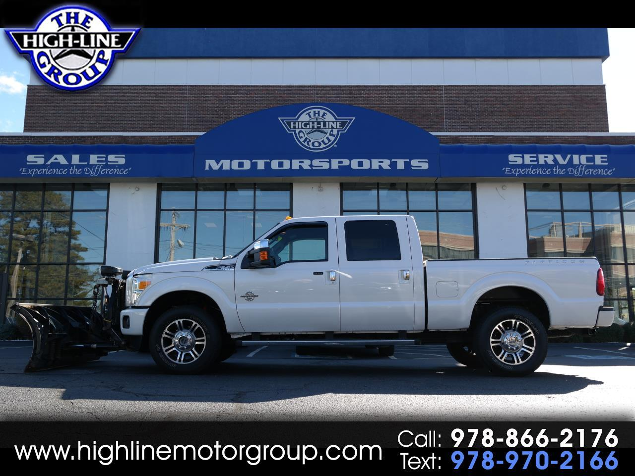 2013 Ford Super Duty F-350 SRW 4WD Crew Cab 156