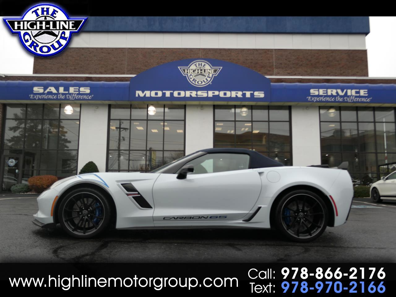 2018 Chevrolet Corvette GRAND SPORT 3/LT CONVERTIBLE CARBON 65 EDITION