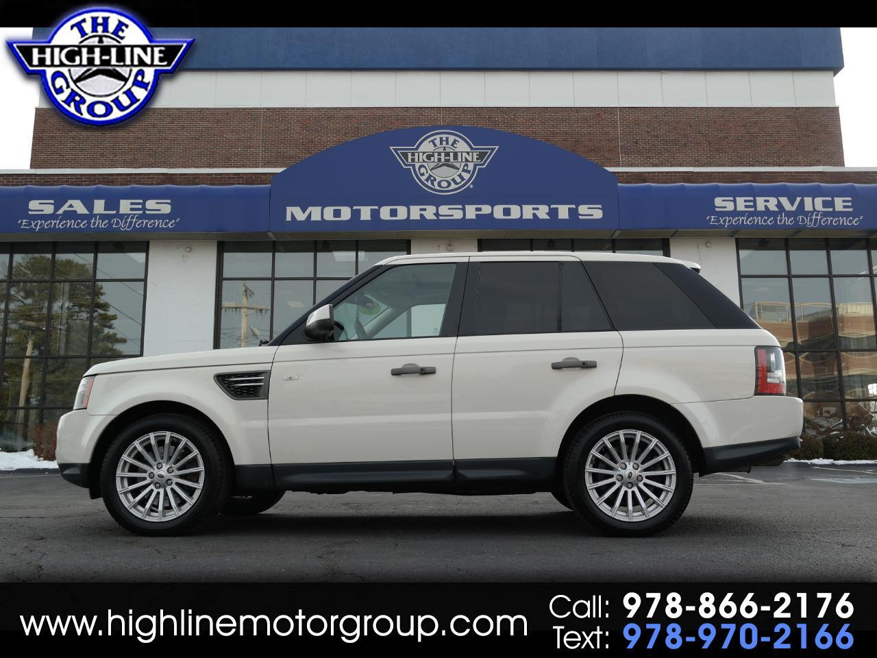2010 Land Rover Range Rover Sport 4WD 4dr HSE