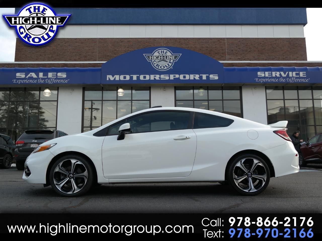 2015 Honda Civic Coupe 2dr Man Si