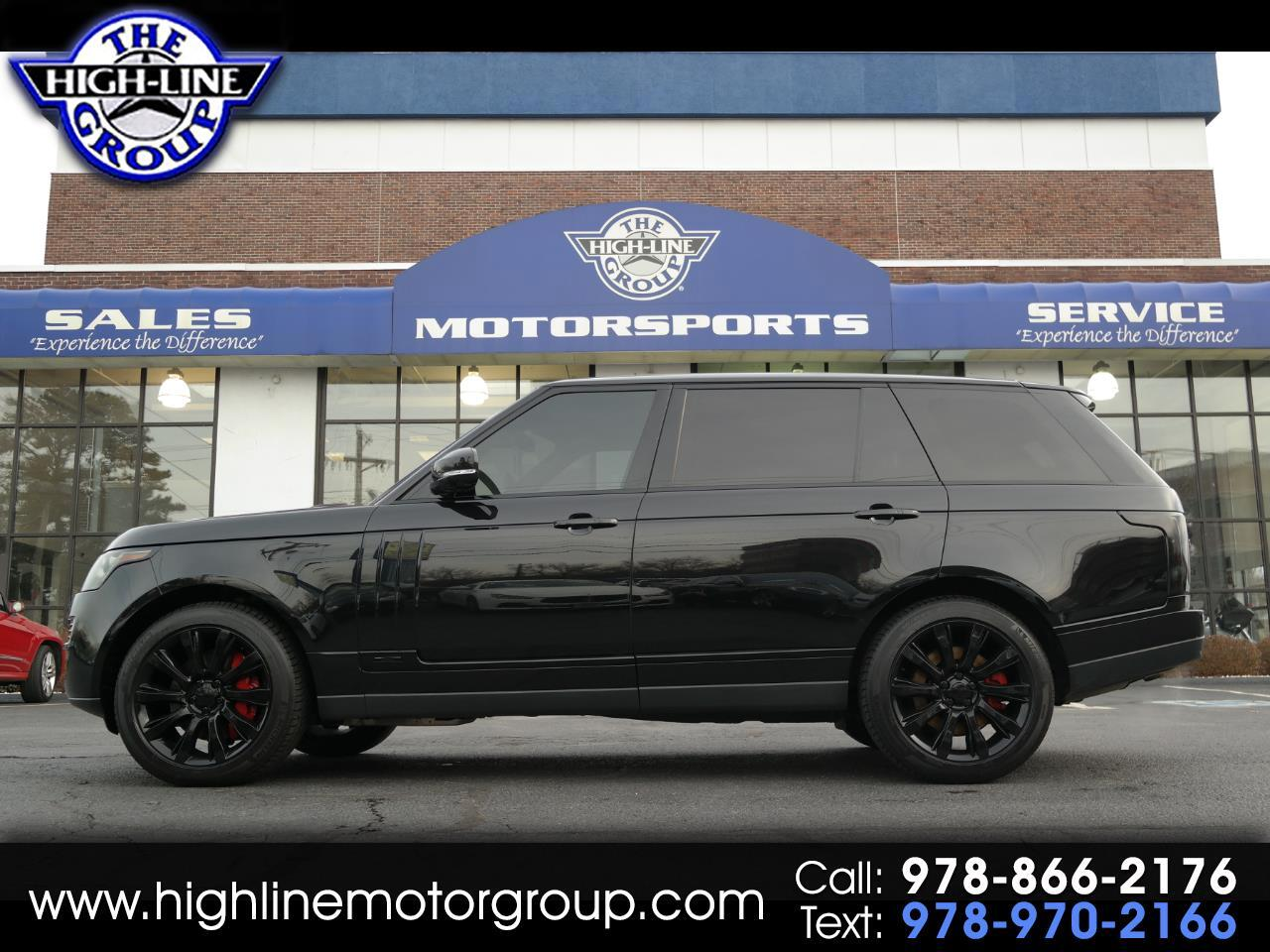 2015 Land Rover Range Rover 4WD 4dr Supercharged LWB