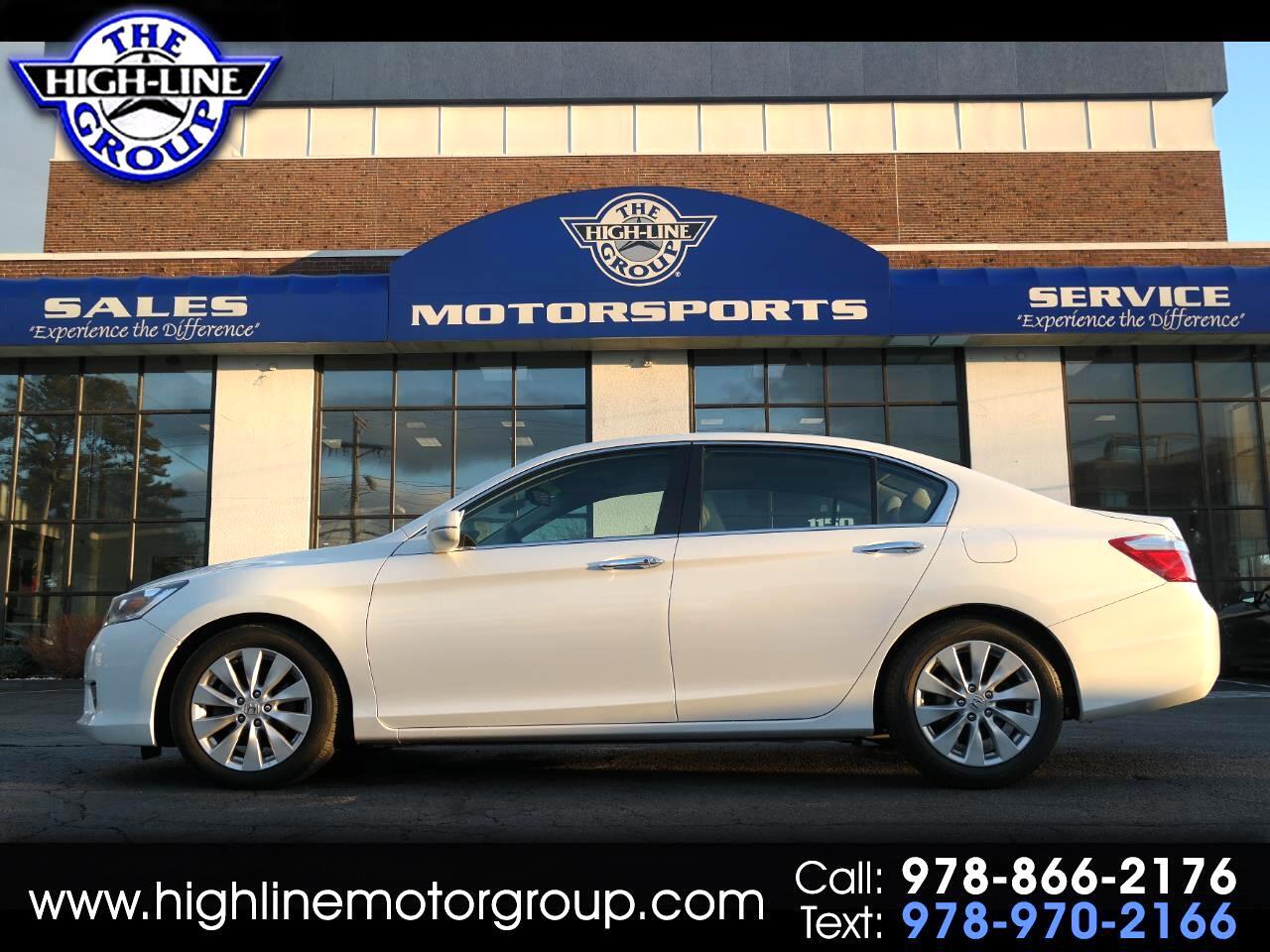 2015 Honda Accord Sedan 4dr I4 CVT EX-L