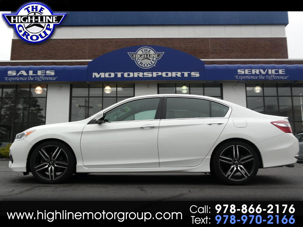 2016 Honda Accord Sedan 4dr I4 CVT Sport