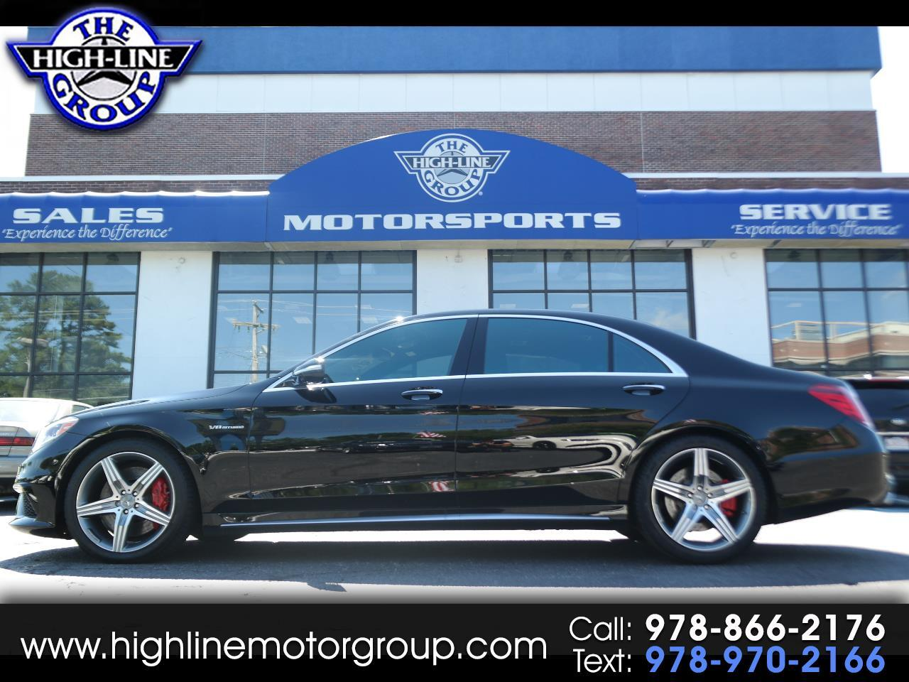 2016 Mercedes-Benz S-Class 4dr Sdn AMG S 63 4MATIC