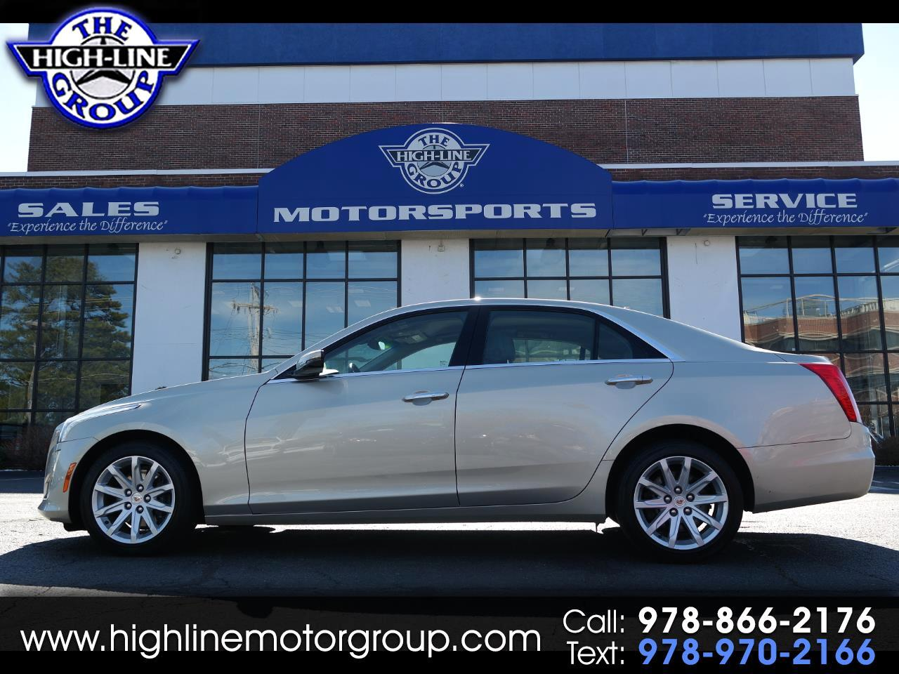 2014 Cadillac CTS Sedan 4dr Sdn 2.0L Turbo AWD