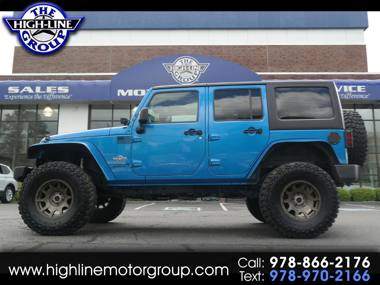 2014 Jeep Wrangler Unlimited 4WD 4dr Freedom Edition *Ltd Avail*
