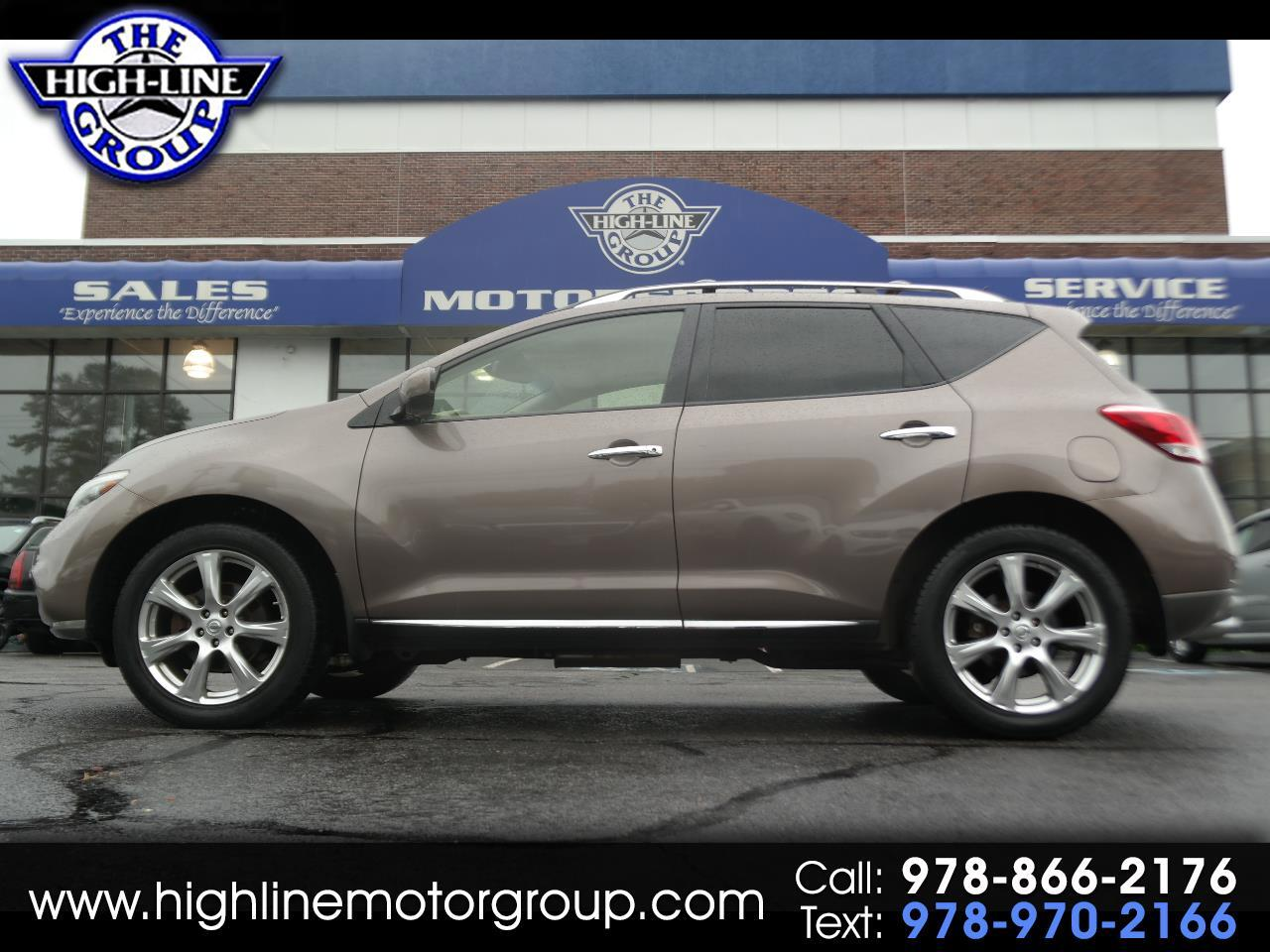 2013 Nissan Murano AWD 4dr LE