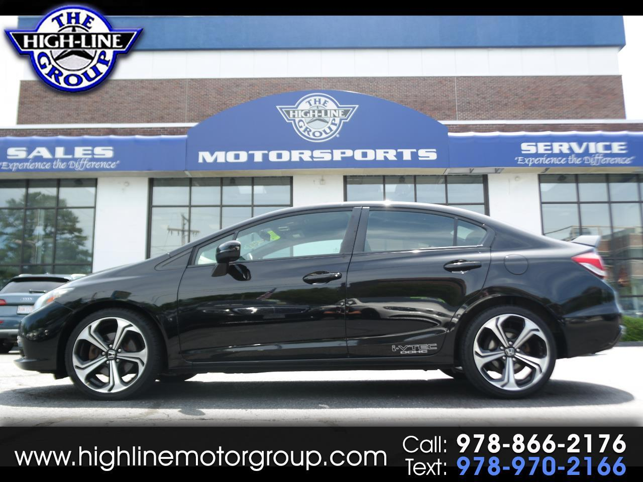 2015 Honda Civic Sedan 4dr Man Si