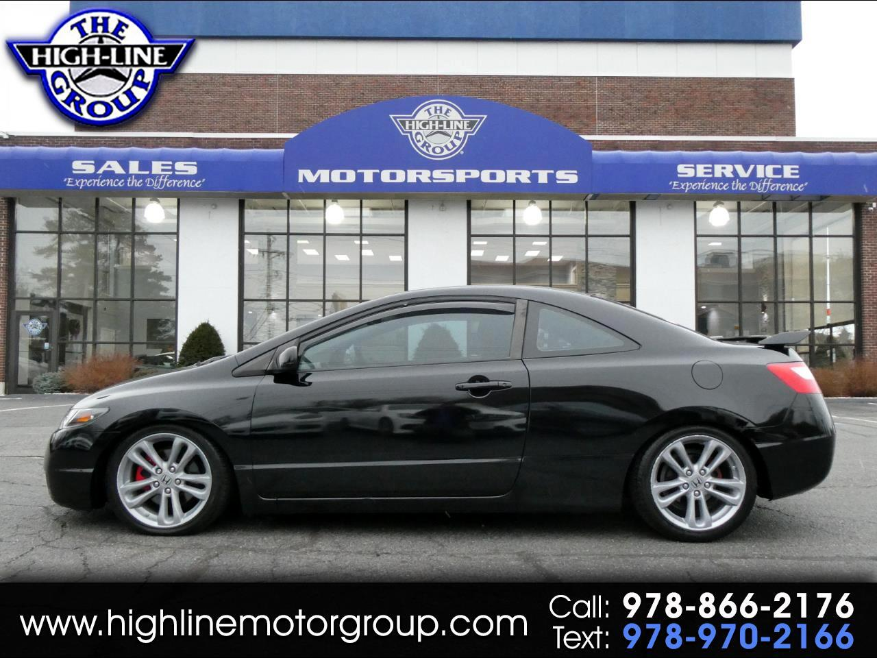 2008 Honda Civic Cpe 2dr Man Si