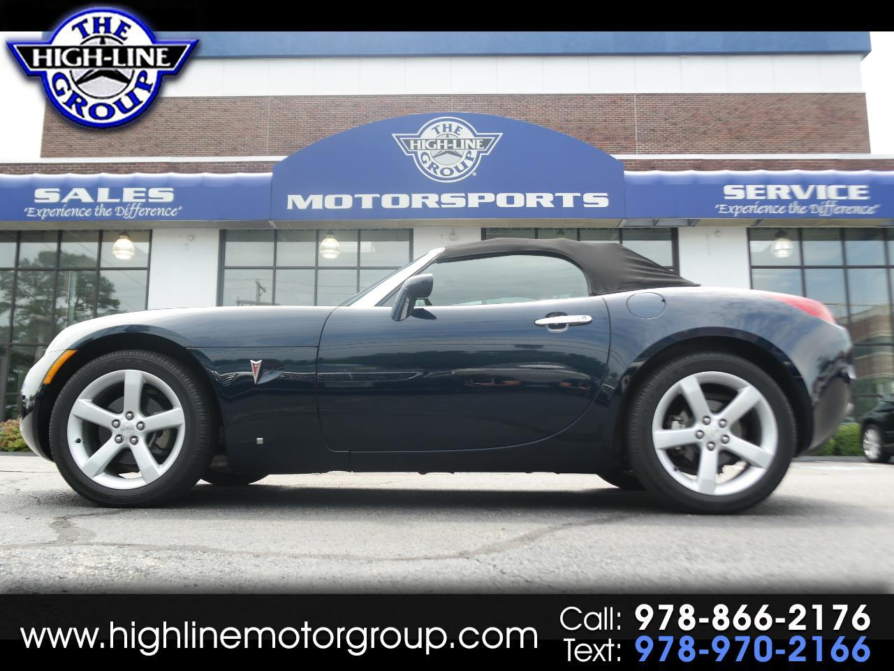 2006 Pontiac Solstice 2dr Convertible