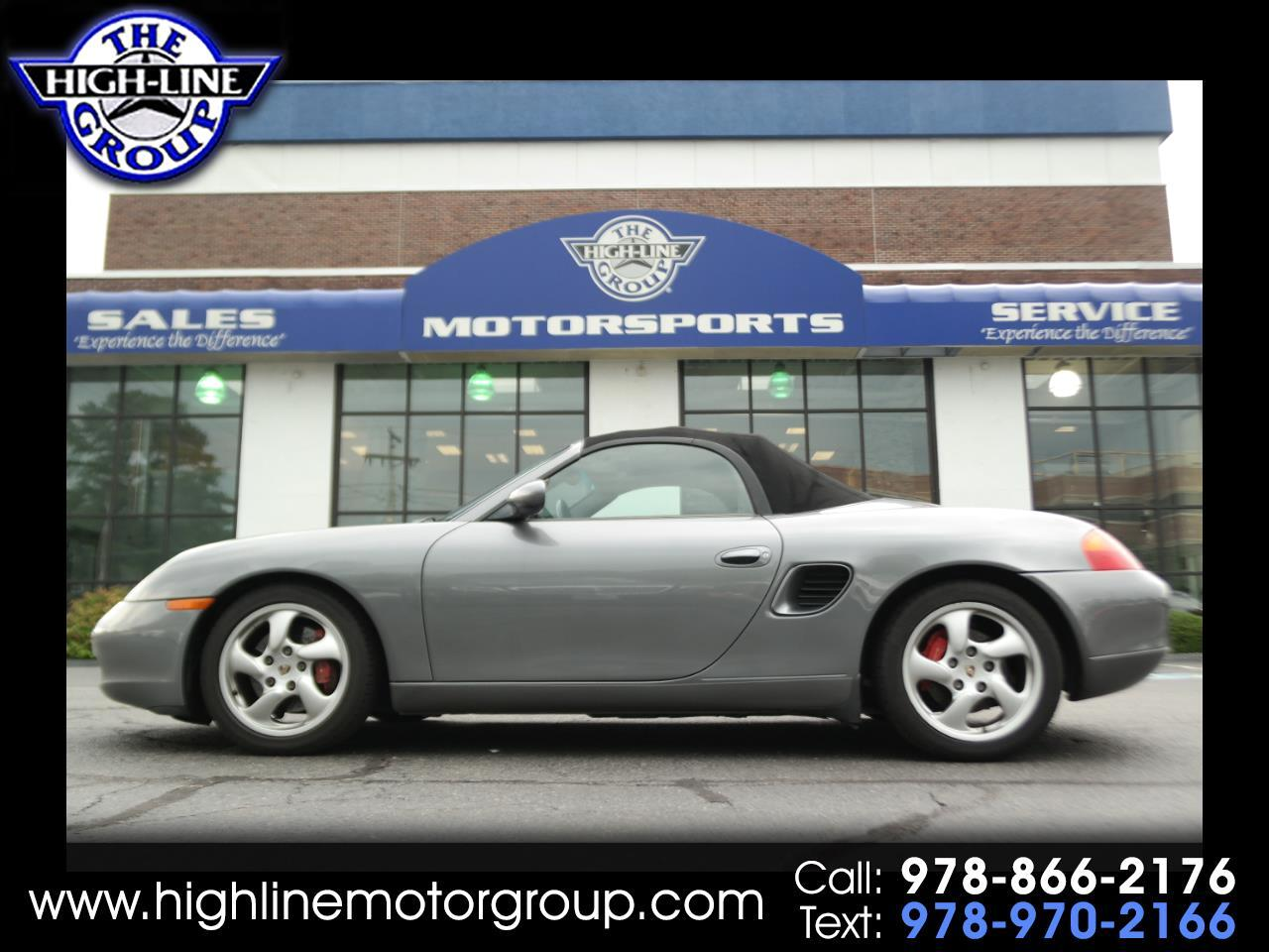2002 Porsche Boxster 2dr Roadster S 6-Spd Manual