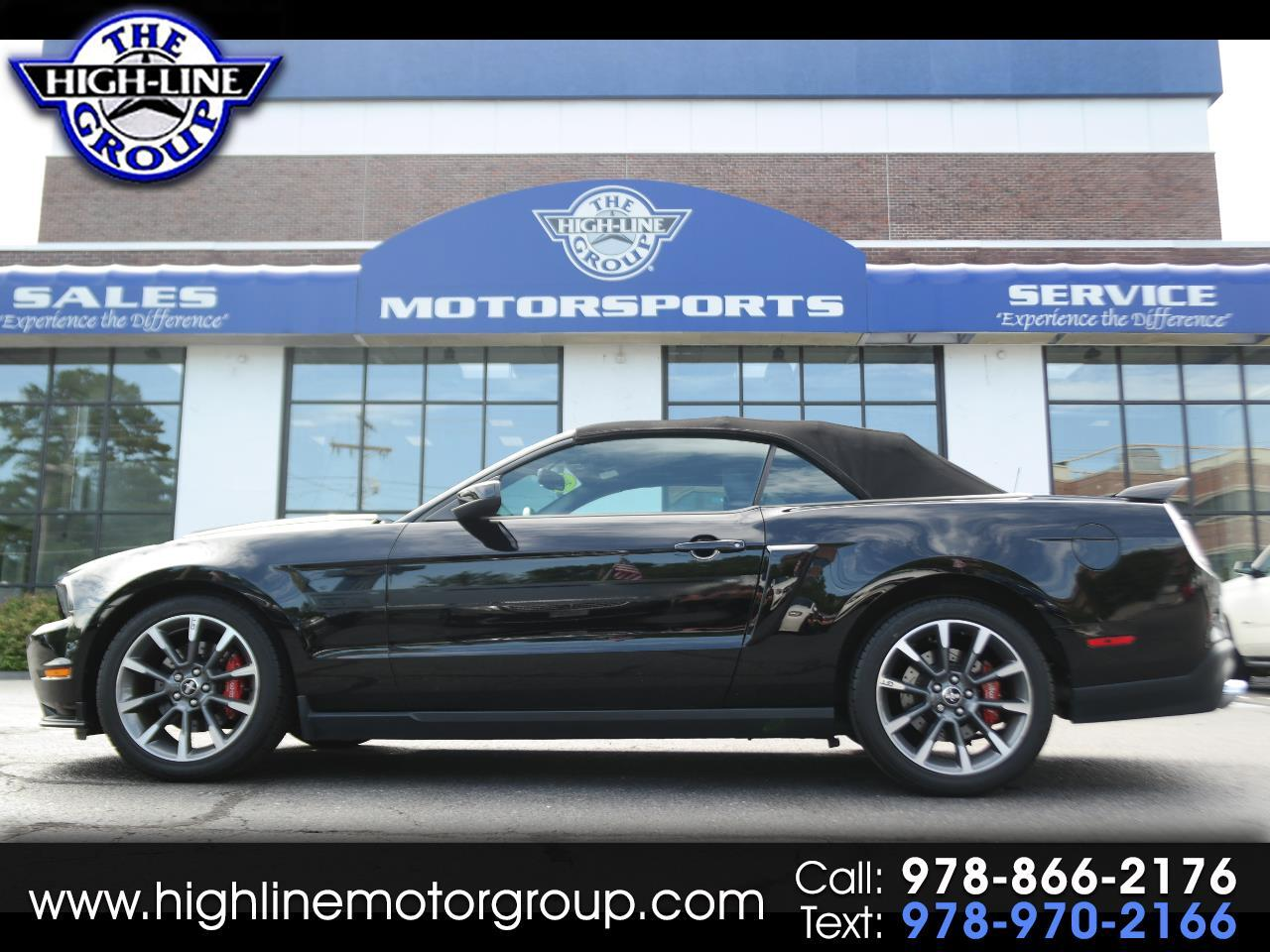 2012 Ford Mustang CONV GT C/S