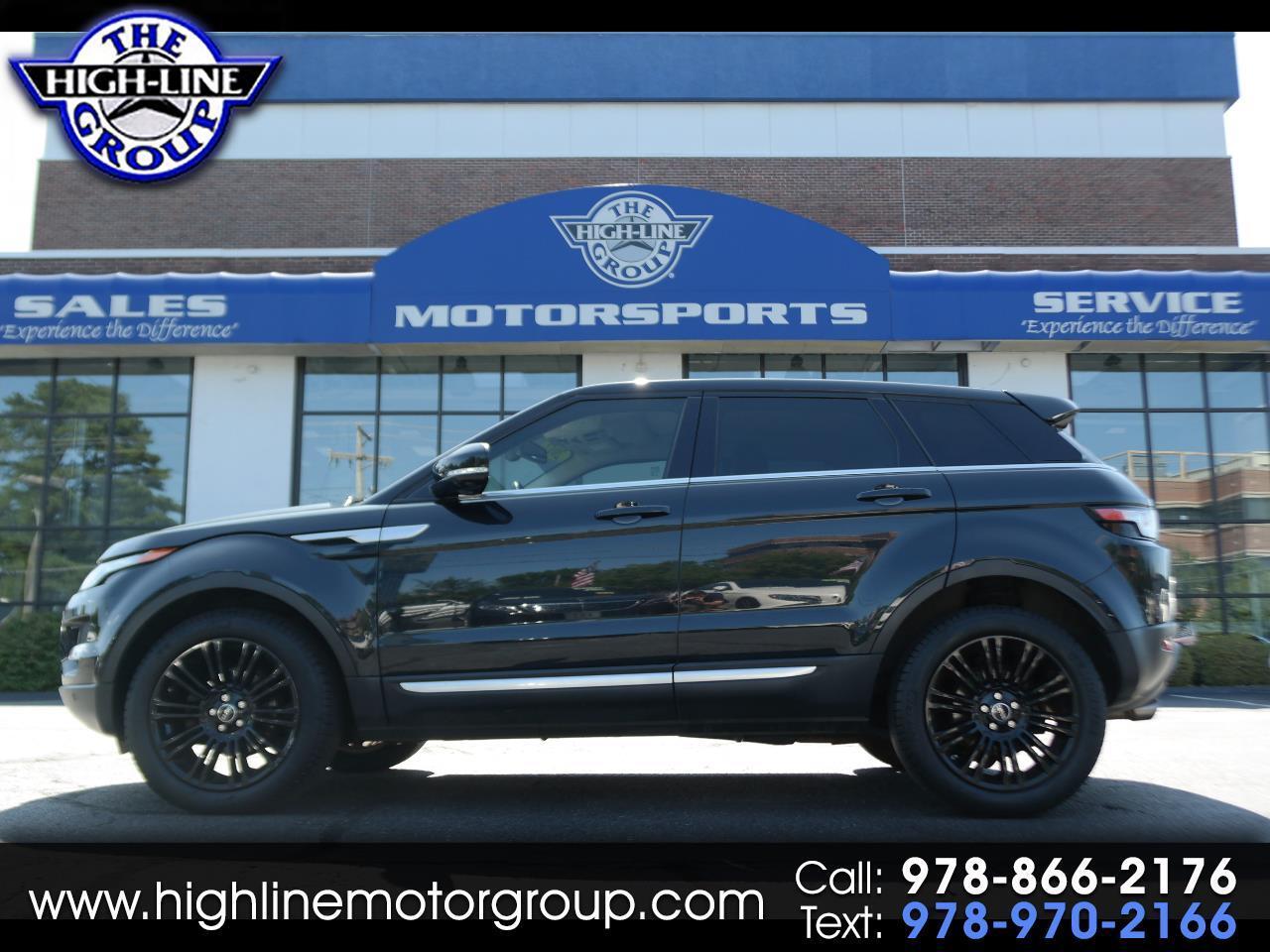 2012 Land Rover Range Rover Evoque 5dr HB Prestige Premium