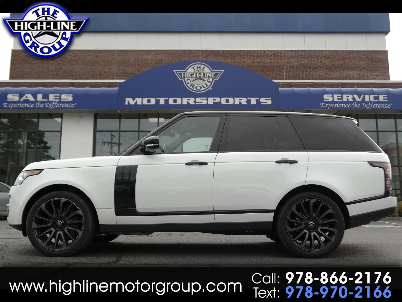 2015 Land Rover Range Rover 4WD 4DR SUPERCHARGED LIMITED EDITION