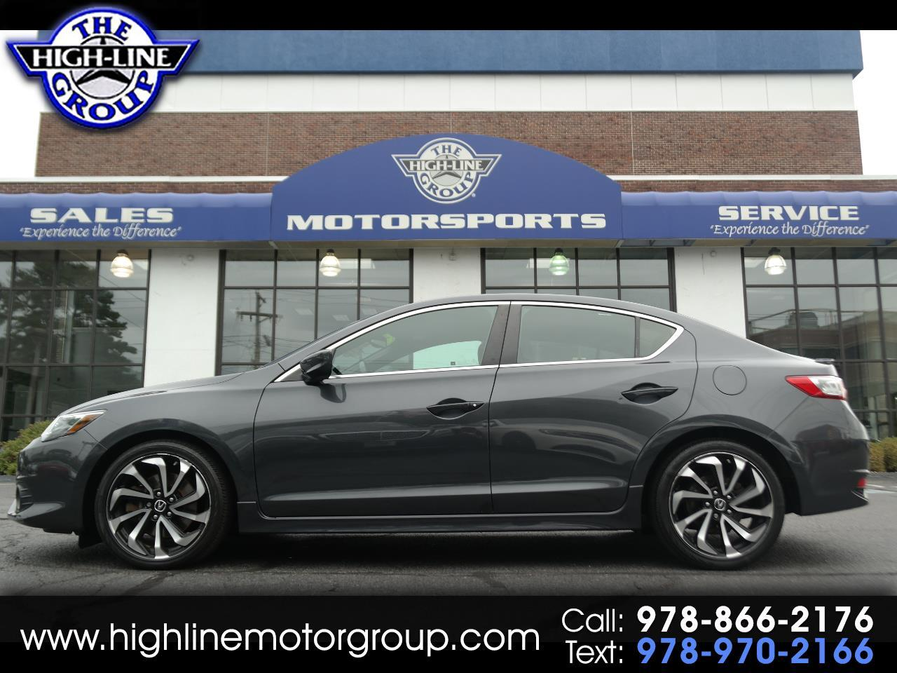 2016 Acura ILX 4dr Sdn w/Technology Plus/A-SPEC Pkg