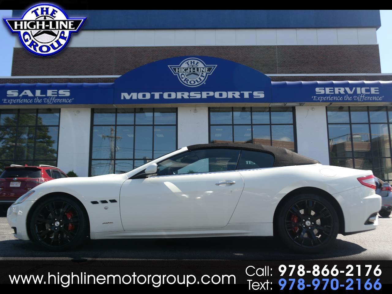 2011 Maserati GranTurismo Convertible 2dr Conv GranTurismo