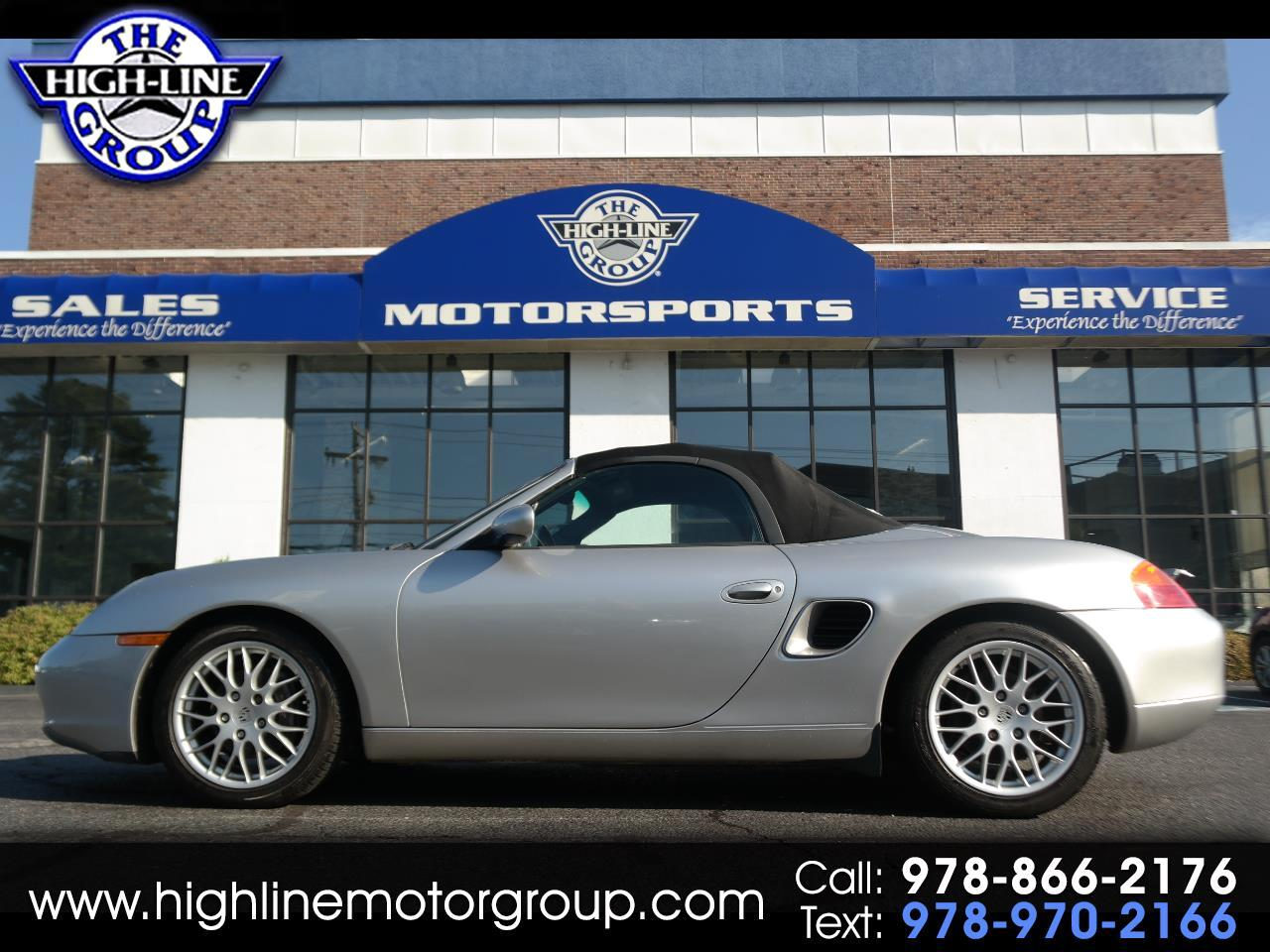 Porsche Boxster 2dr Roadster 5-Spd Manual 2002