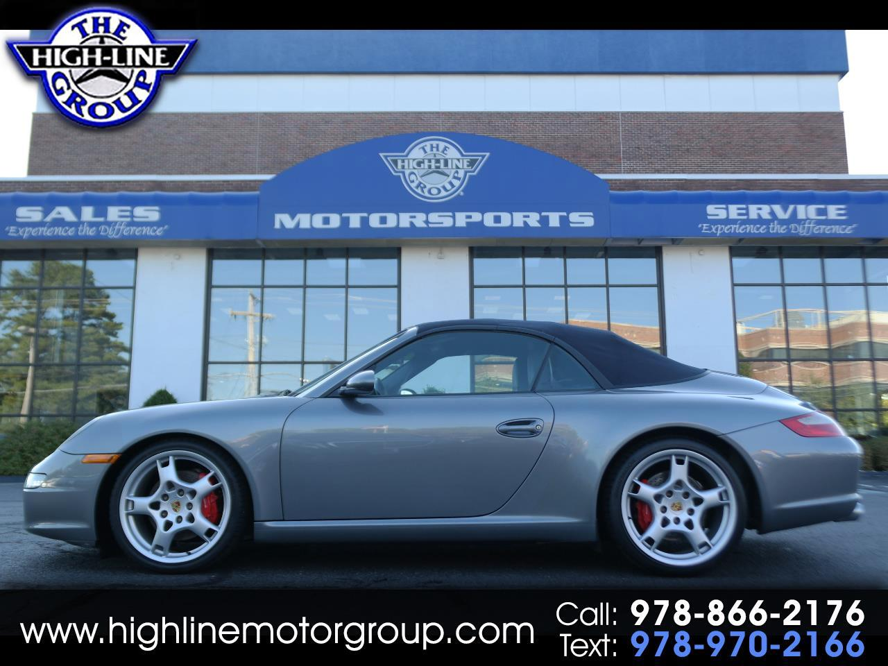 2006 Porsche 911 2dr Cabriolet Carrera S