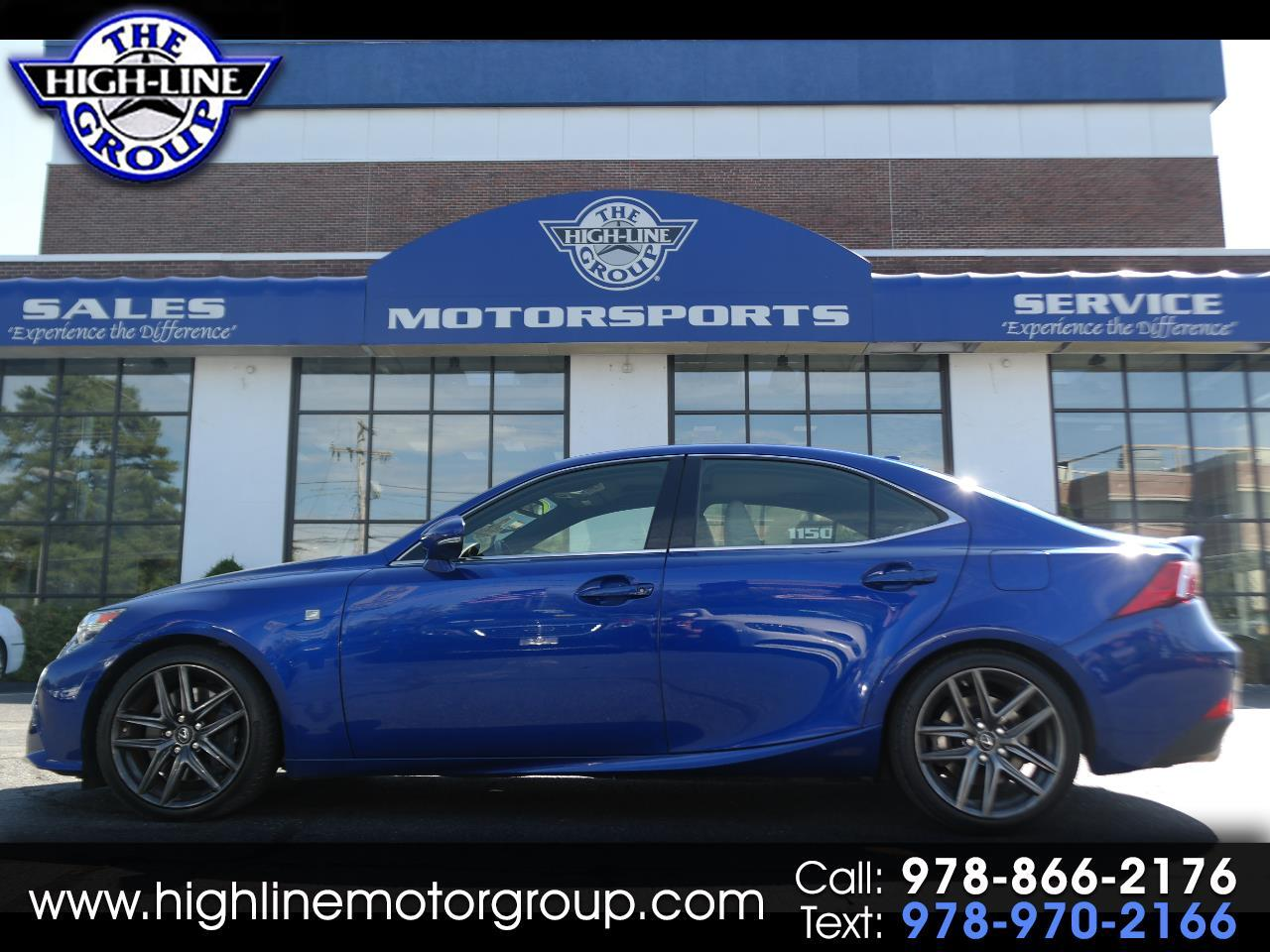2016 Lexus IS 300 AWD F-SPORT