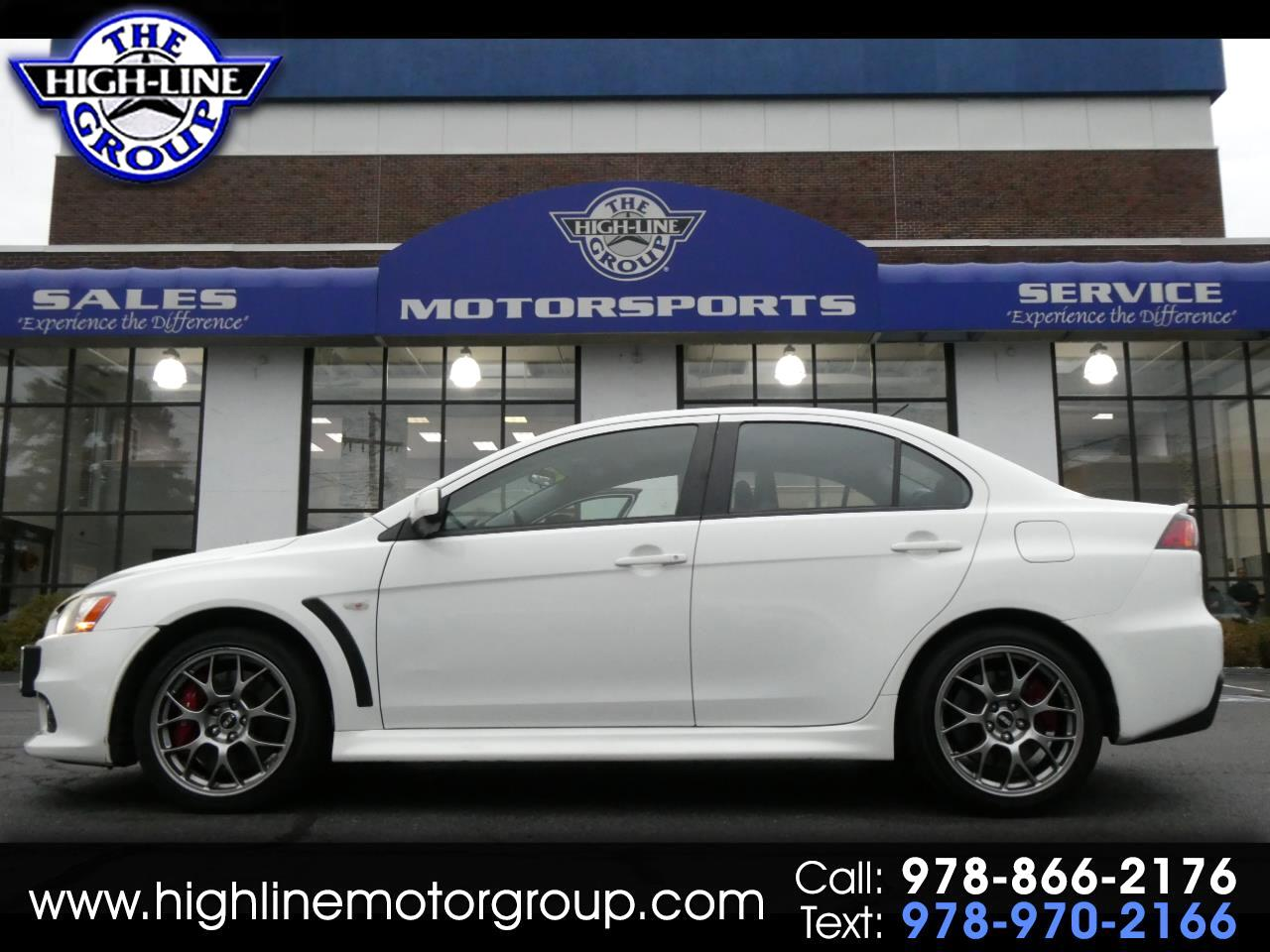 2011 Mitsubishi Lancer 4dr Sdn TC-SST Evolution MR AWD