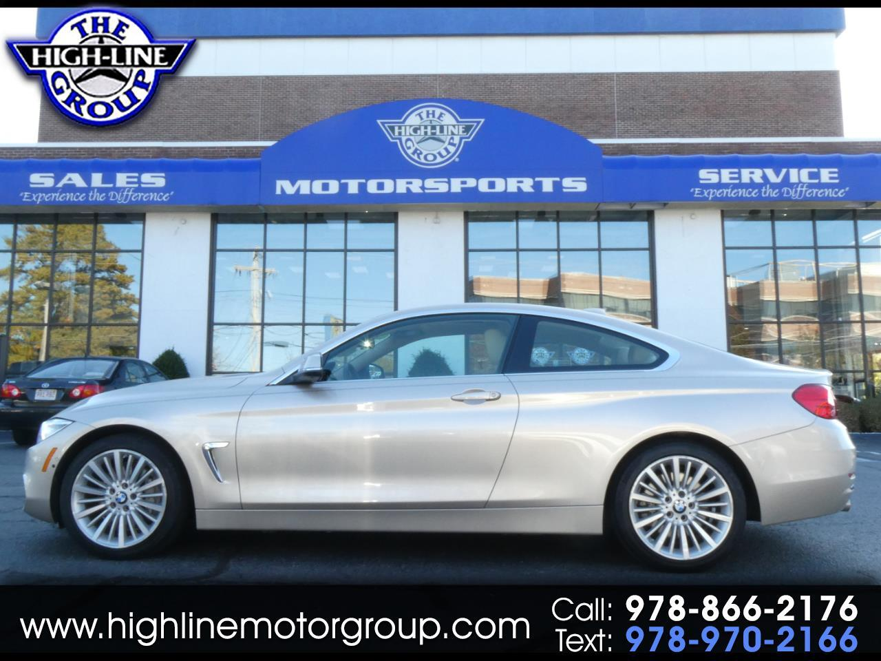 2014 BMW 4 Series 2dr Cpe 435i xDrive AWD