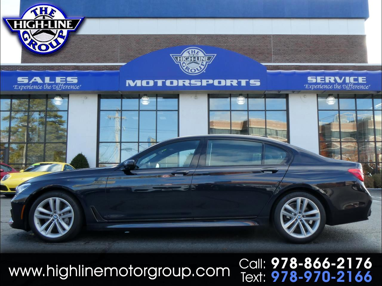 2016 BMW 7 Series 4dr Sdn 750i xDrive AWD