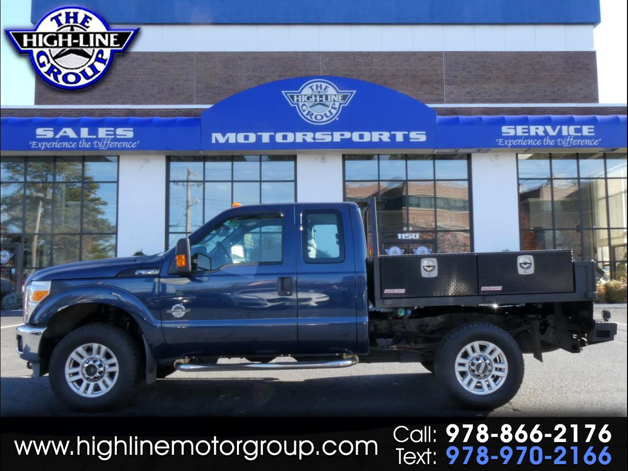 2013 Ford Super Duty F-350 SRW 4WD SuperCab 158