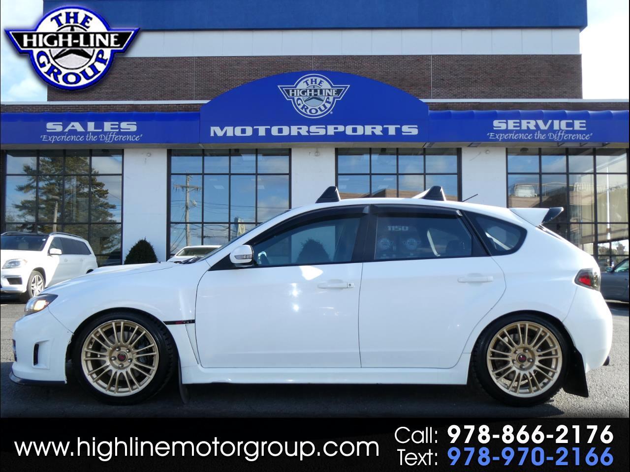 2008 Subaru Impreza Wagon (Natl) 5dr Man STI w/Gold Wheels/Nav